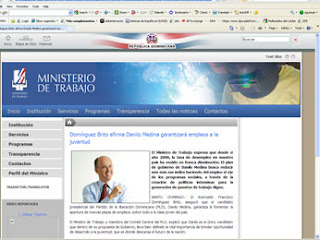 Ministerio dice fue un error la nota que promueve a Danilo