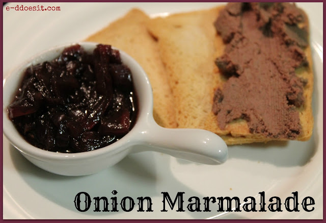 onion marmalade ingredients 25g butter 375g onions peeled and thinly
