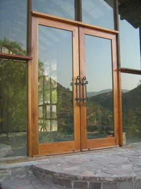 Fotos y dise os de puertas puertas correderas exteriores for Puertas para patio exterior