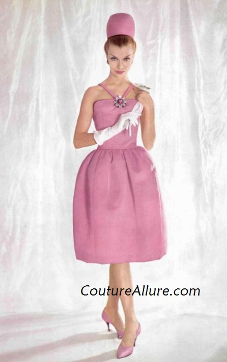 Couture Allure Vintage Fashion: 1960 Couture Evening Gowns and Party ...