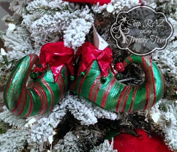 RAZ Elf Shoe at Trendy Tree