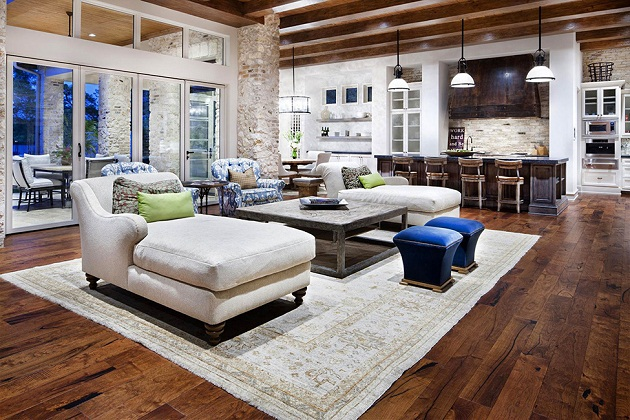 Delightful When You Go Into The House, Do Not Be Surprised Because The Interior Is  Decorated In A Rustic Style And Bringing Elements Of Nature. This Home  Decor Idea ...