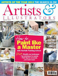 Artist and Illustrator Magazine Issue July 2013