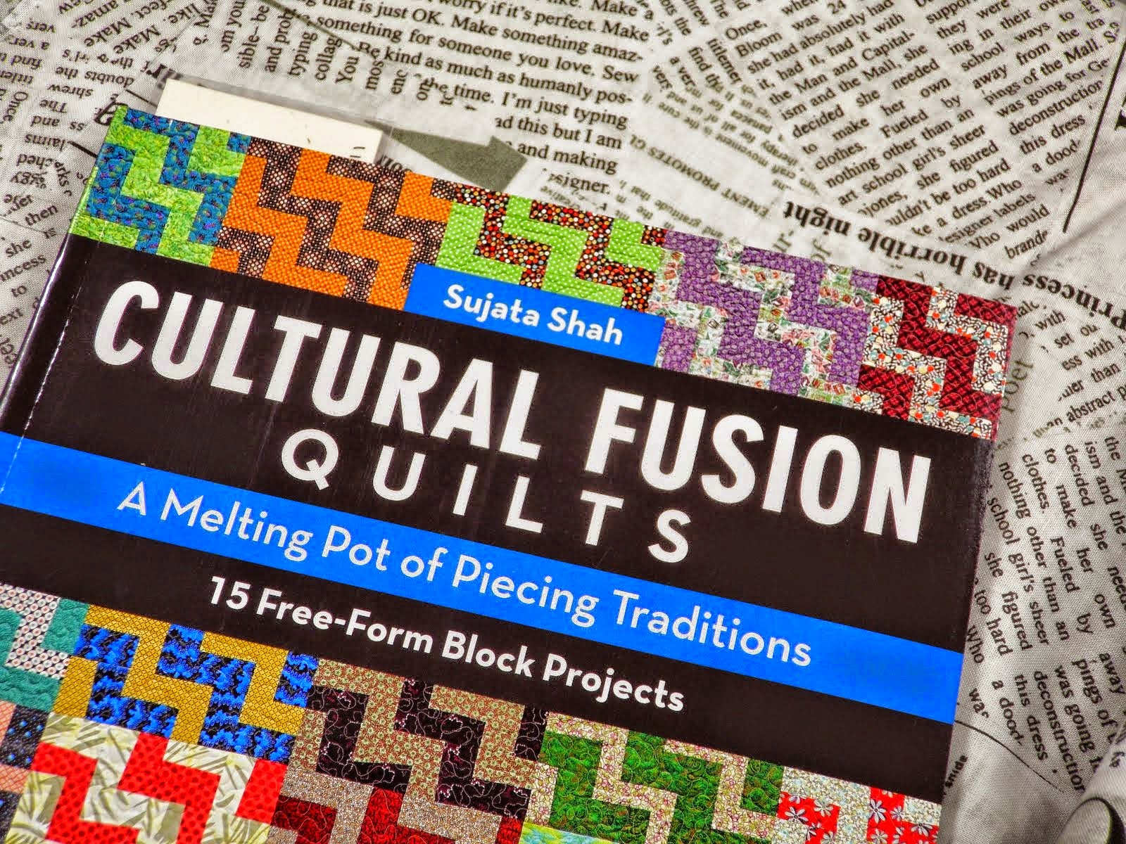 I write for Cultural Fusion Quilts Blog too!