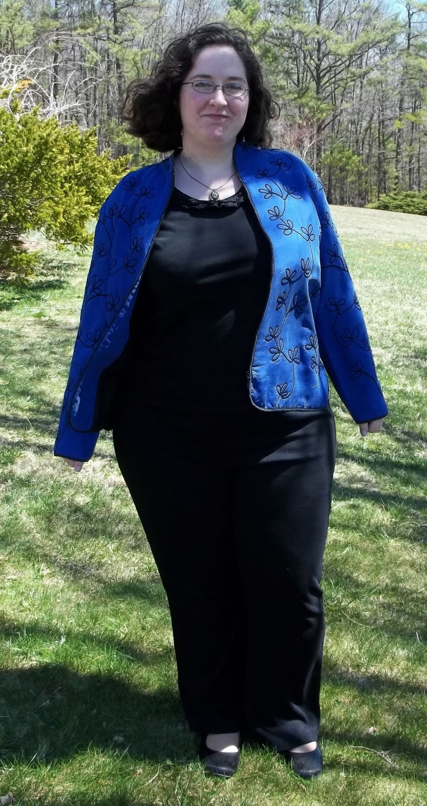 plus size curves ahead interview outfit the interviewer called me back for the second round of interviews 1 1 2 hours after i finished the first one blazer chico s top merona