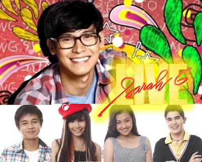 Enchong Dee, Myrtle Sarrosa and Yves Flores (MyrVes), Karen Reyes and Ryan Boyce (RyRen) on Sarah G Live this August 12