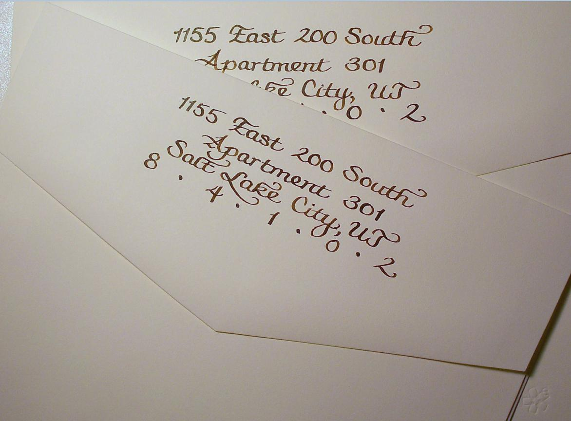 dos and donts when addressing wedding invitations part 1