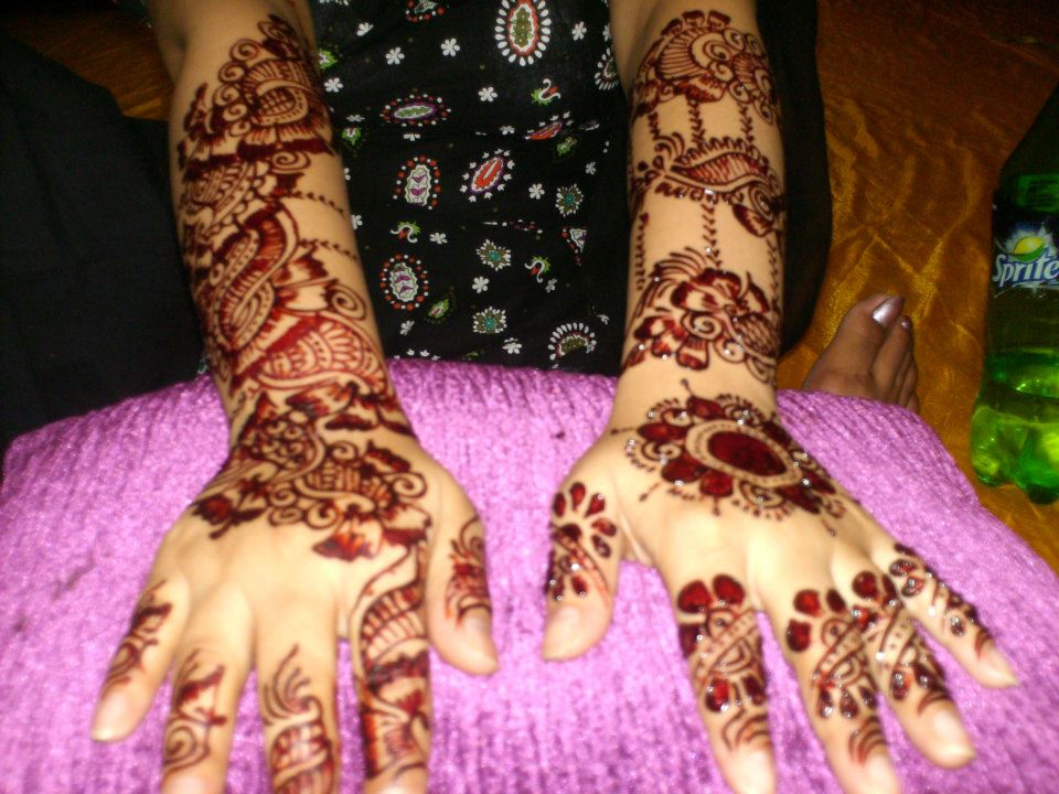 Mehndi Designs Jans : Bridal mehndi design  asian clothing