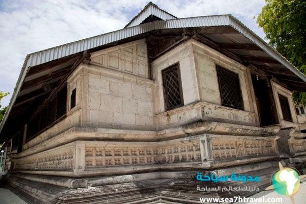 اقدم مسجد في المالديف