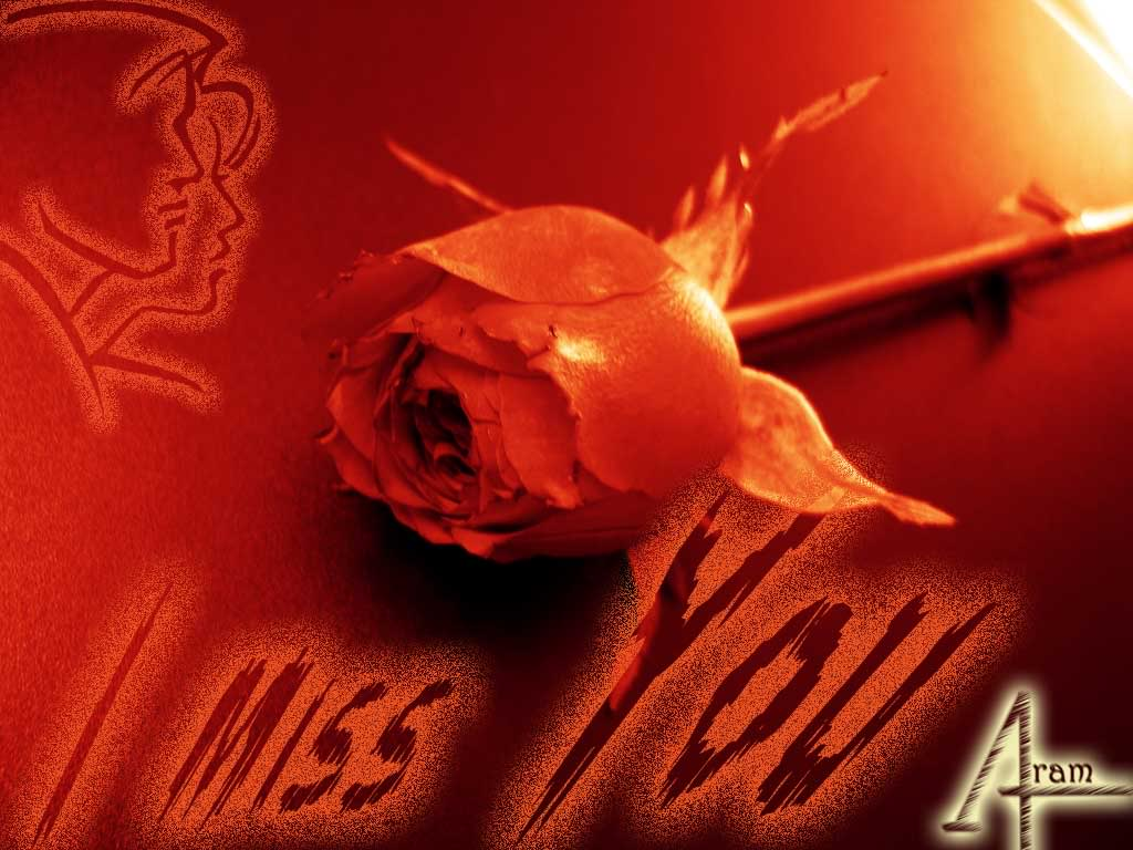 I Love U Wallpaper In Blood : I Miss U 2 Wallpaper Awesome Wallpapers