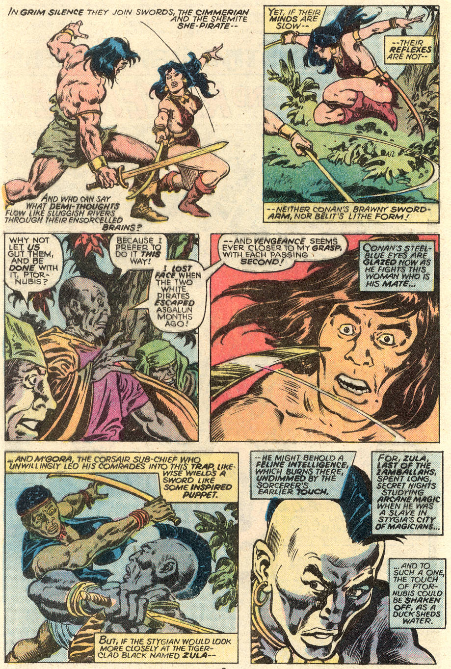 Conan the Barbarian (1970) Issue #93 #105 - English 3