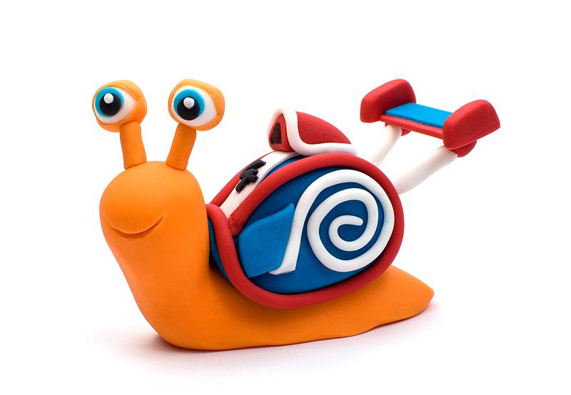 Turbo fondant figurines front