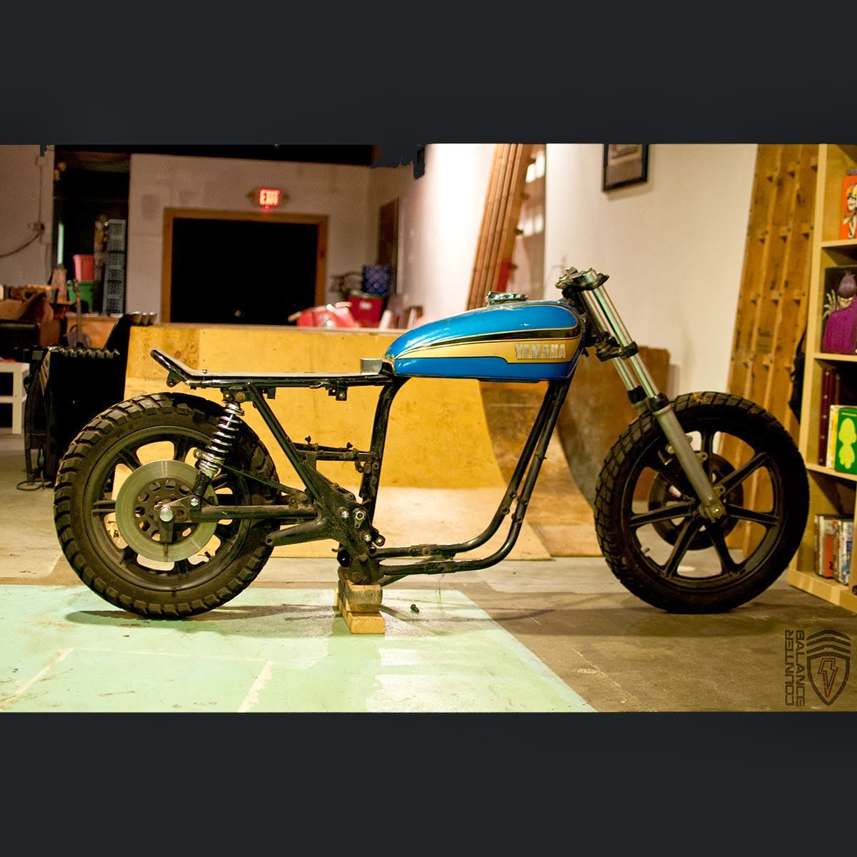 Bmw Xs: Counter Balance Motorcycles: XS 650 Street Tracker