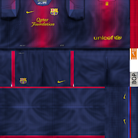 PES 6  Kit FC Barcelona 2012 2013 By ElBop