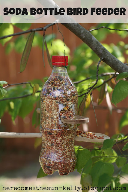 Soda Bottle Birdfeeder