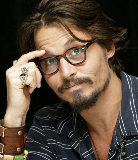 Johnny Depp Hairstyle 3