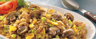 Nasi Goreng Ayam Jamur