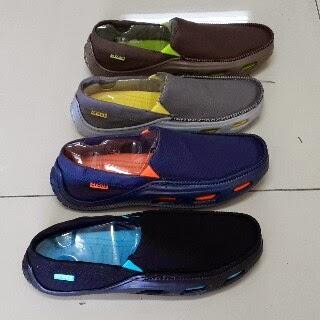 Jual Sandal Crocs Sepatu Crocs Tideline Sport Canvas Original
