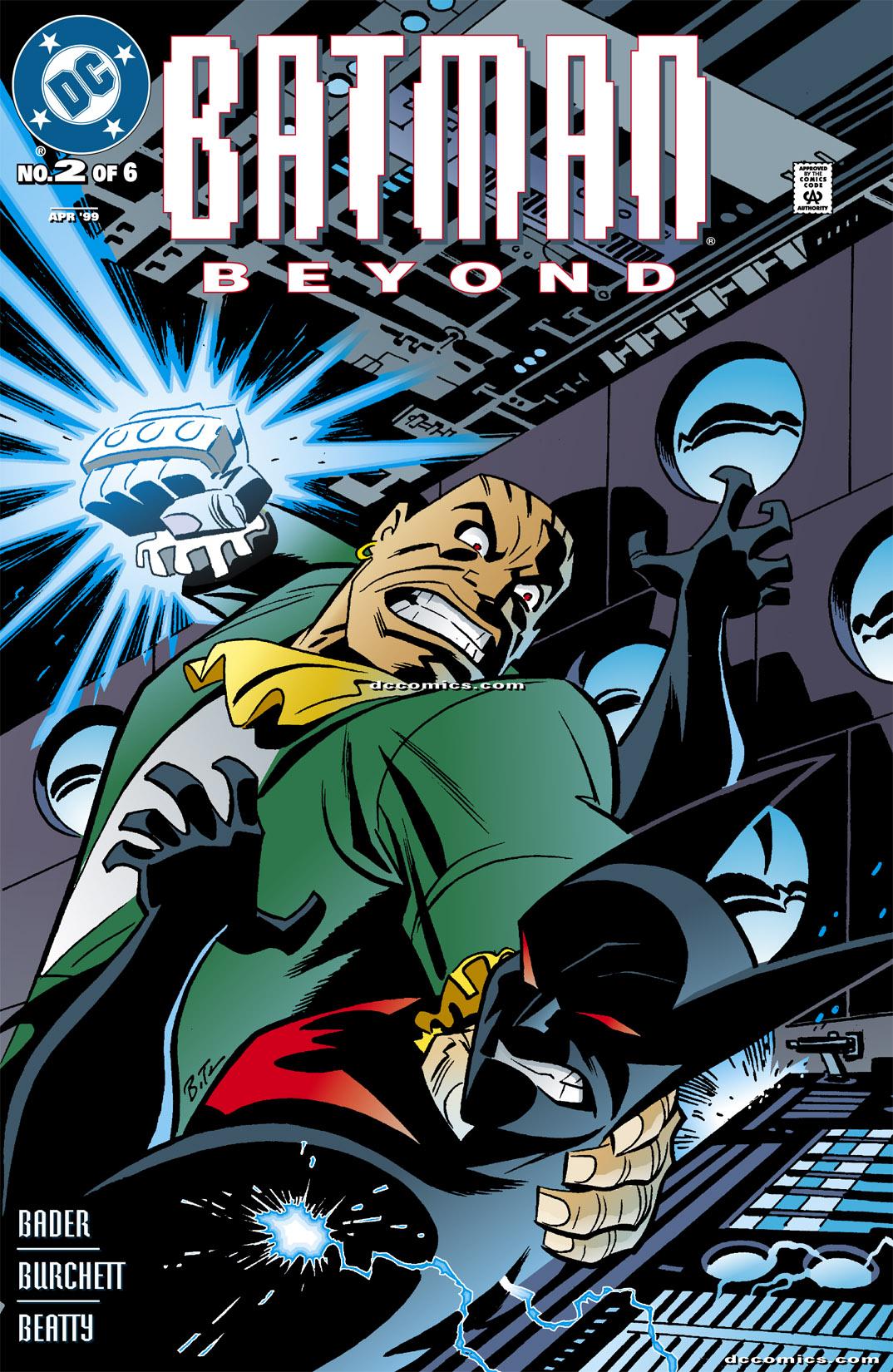 Batman Beyond [I] 2 Page 1