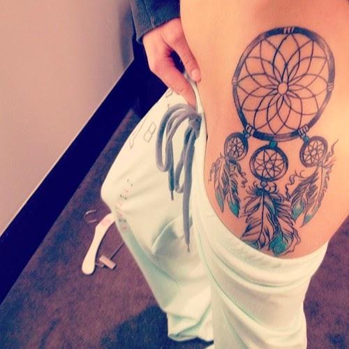 Dreamcatcher Tattoo Ideas Tumblr Dreamcatcher Legs Tattoos