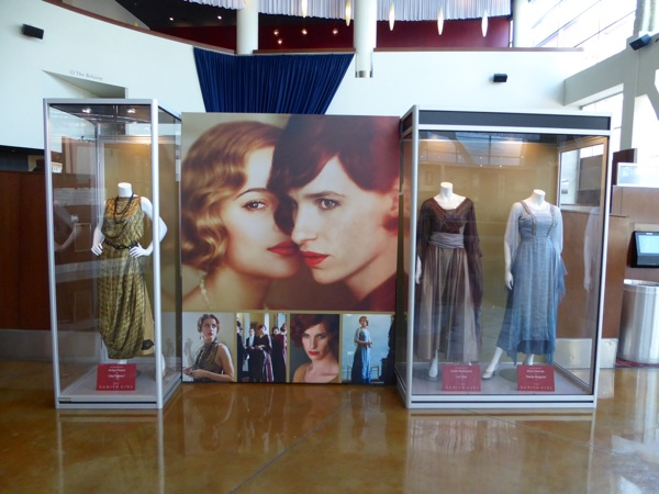 The Danish Girl film costume exhibit