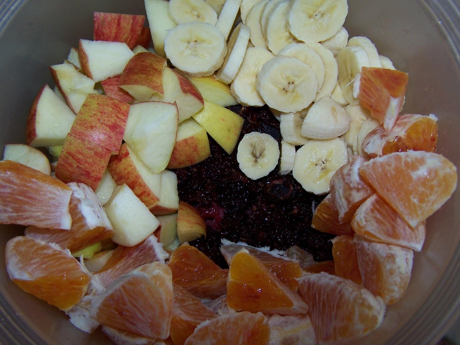 Les gourmandes astucieuses cuisine v g tarienne bio - Salade de fruits maison ...