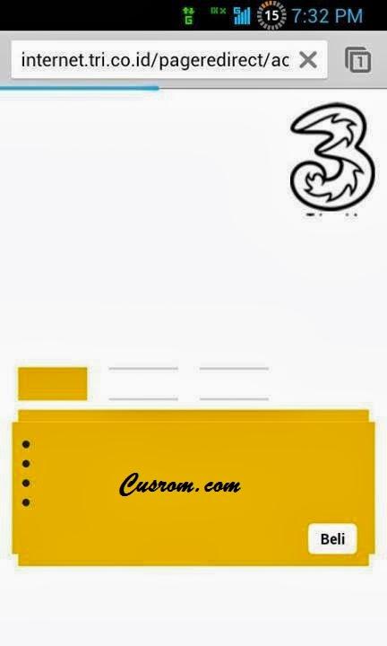 Cara Internetan Menggunakan Kartu GSM di Smartfren Andromax C