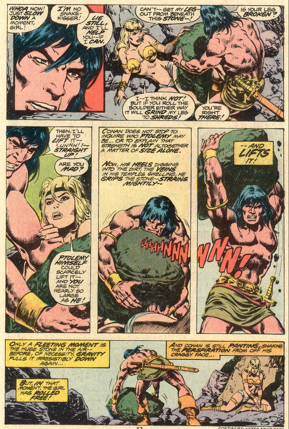 Conan the Barbarian (1970) Issue #79 #91 - English 12