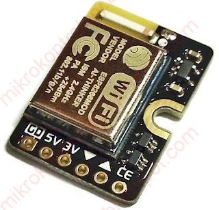 ESP8266 - Moduł bez wyprowadzonych pinów GPIO