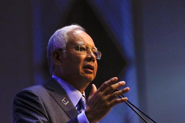 Malaysia Prime Minister Najib Abdul Razak