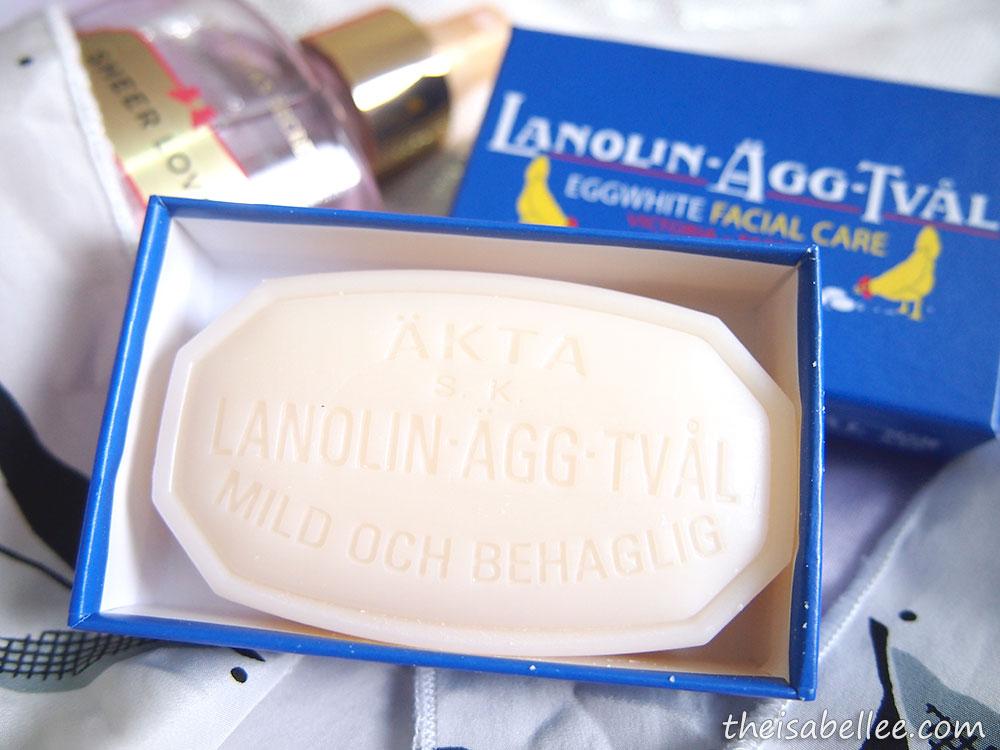 Swedish egg white facial soap — img 4