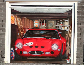 optical illusion garage door
