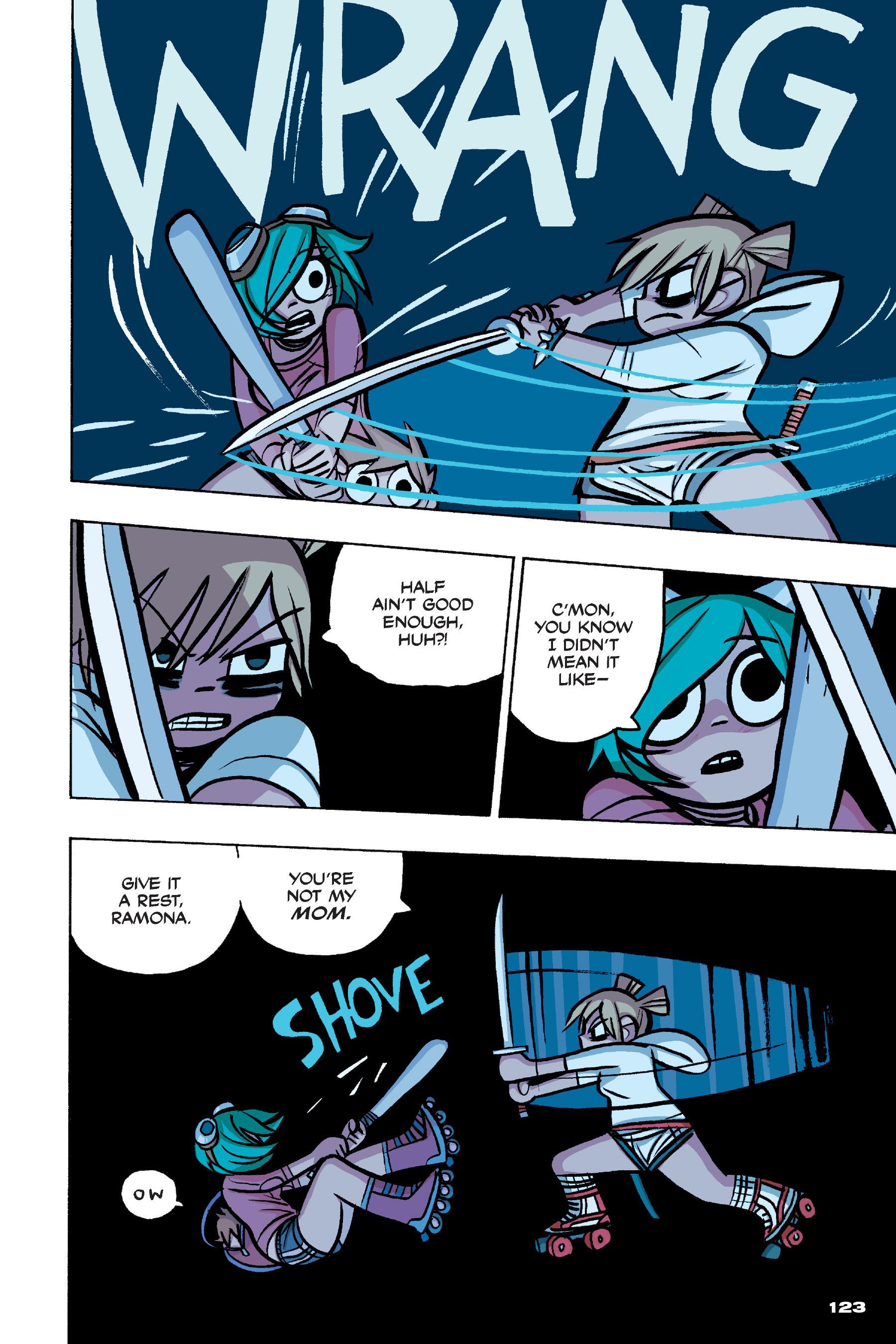 Read online Scott Pilgrim comic -  Issue #4 - 120