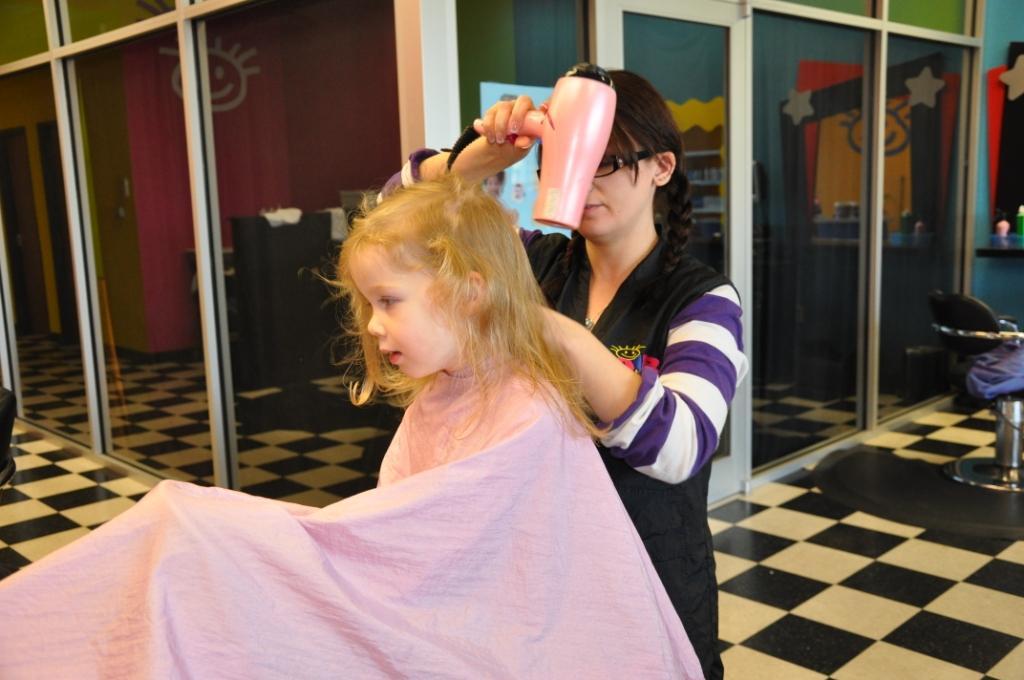 Savor The Days Rachels First Haircut