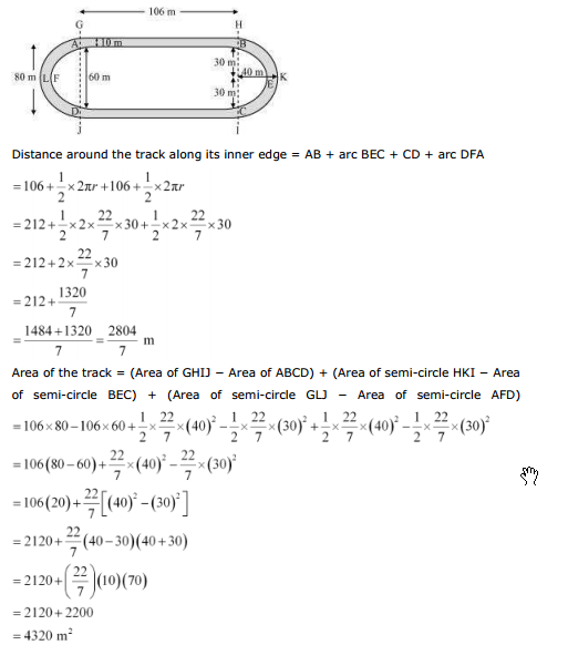 ncert text book solutions ncert solutions for class 10th maths chapter 12 areas related to