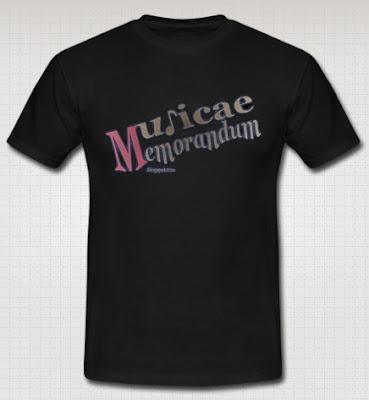 Camisetas por la cara. Musicae Memorandum