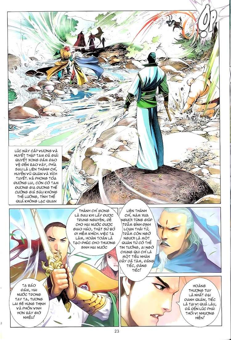 Phong Vân chap 625 Trang 23 - Mangak.info