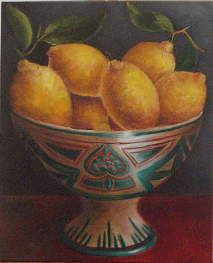 Frutero de Teruel con limones