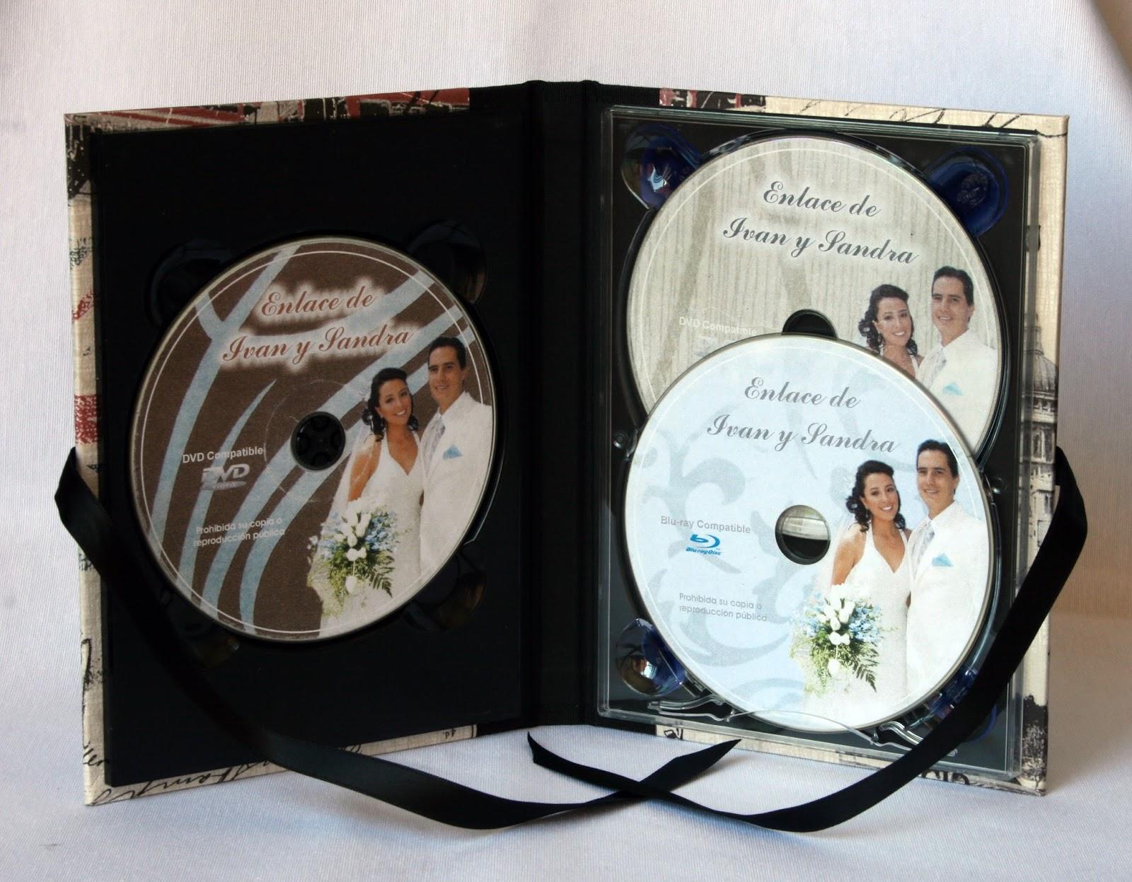 Pareja estuche 3 DVD  abierto