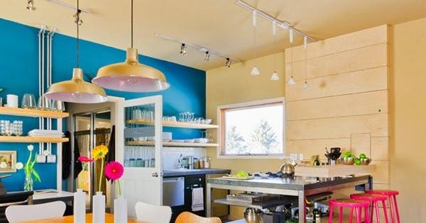 Cocinas coloridas ideas para decorar dise ar y mejorar - Disenar tu casa ...