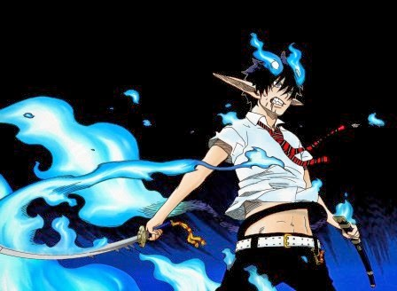 Wallpaper Rin Okumura (Blue Exorcist)