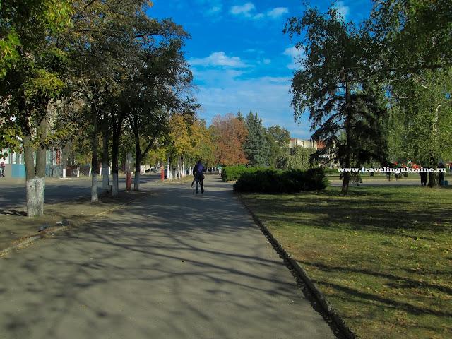 Центр города Славянск