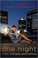 One Night That Changes Everything Lauren Barnholdt book cover