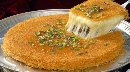 is an Arabic sweet made of very fine vermicelli How to Make Knafeh