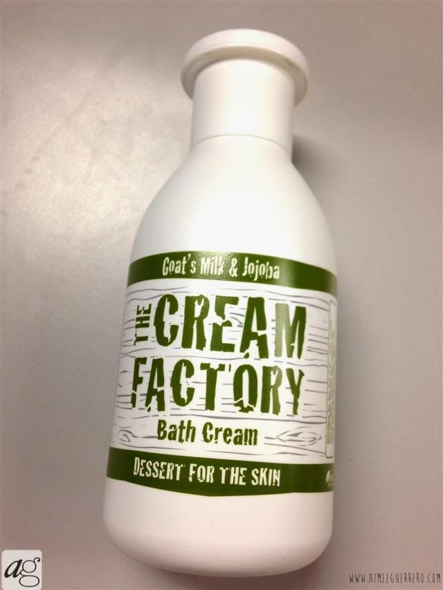 THE CREAM FACTORY Bath Creams in Goat's Milk and Jojoba