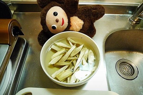 スズキの炊き込みご飯の作り方(2)