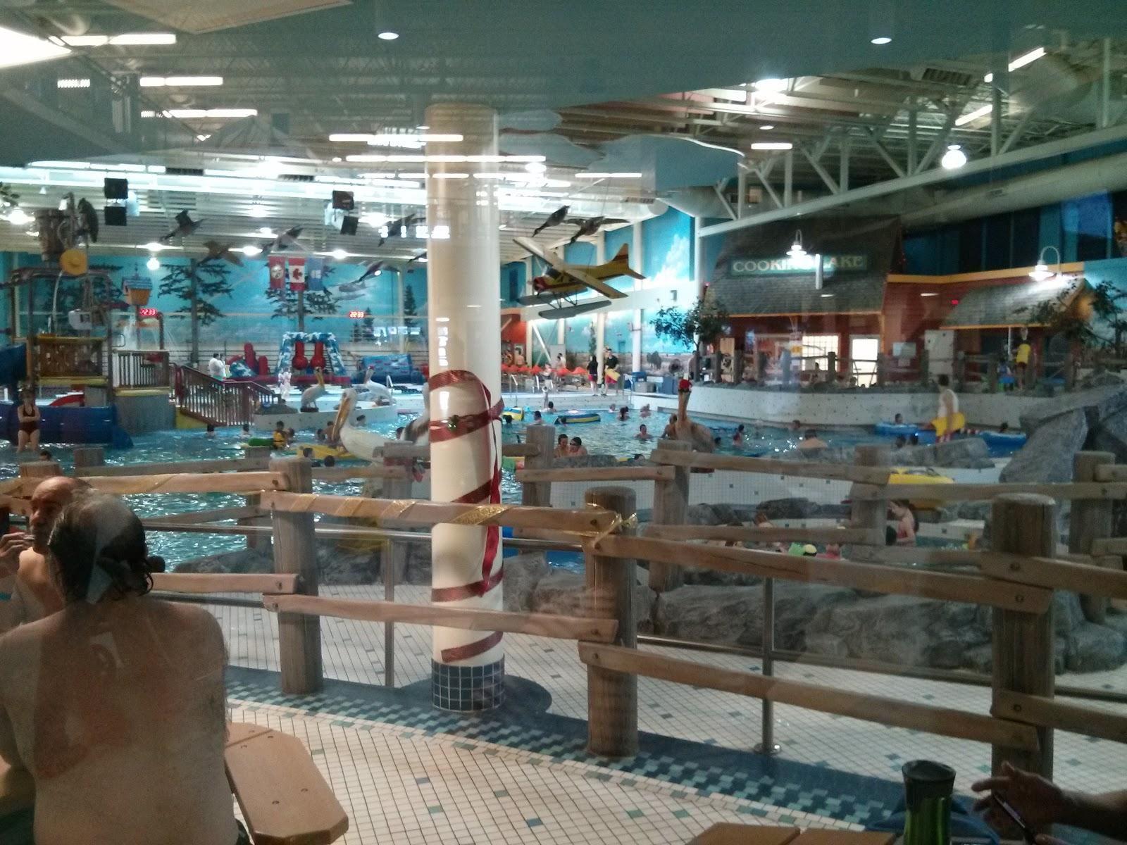 Family Fun Adventures In Edmonton Family Swim Time At Millenium Place