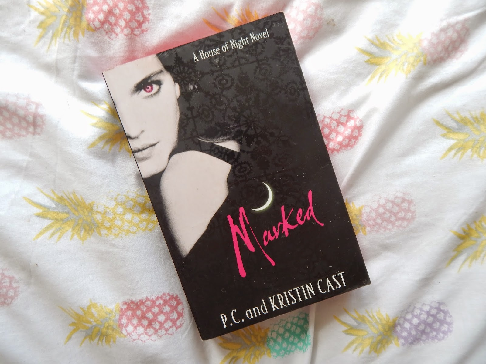 Marked By Pc And Kristin Cast I Read The First Few Books In This Series  Back When I Was In My Vampire Phase And I Really Enjoyed It