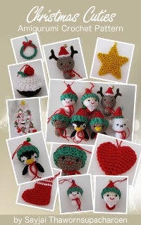 Christmas Cuties Amigurumi ornaments pattern for Kindle