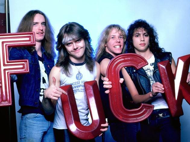 Metallica  - band - 1986